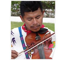 The Father - Leader, Singer, Fiddler - El Padre - Conductor, Cantante, Violinista  Poster