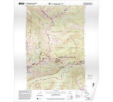 USGS Topo Map Washington State WA Norse Peak 242851 2000 24000 Poster