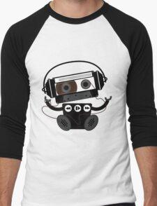 Cassette Robot Men's Baseball ¾ T-Shirt
