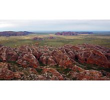 Bungles as seen from the chopper Photographic Print