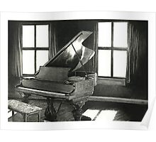 The grand piano Poster