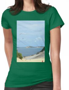 Paragliding at Rainbow Beach Womens Fitted T-Shirt