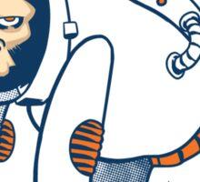 Astronaut Ape Sticker