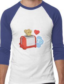 Bravest Warriors - Jelly Kid Love Toast Men's Baseball ¾ T-Shirt