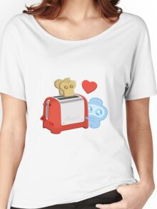 Bravest Warriors - Jelly Kid Love Toast Women's Relaxed Fit T-Shirt