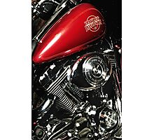 Harley Davidson Electra-Glide Classic Photographic Print
