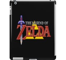 The Legend of Zela - A Link to the Past logo iPad Case/Skin