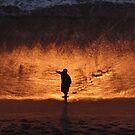 Glowing Beach - Playa Lucienda by Bernhard Matejka