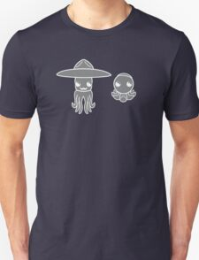 Hats on a Squid and Octopus T-Shirt
