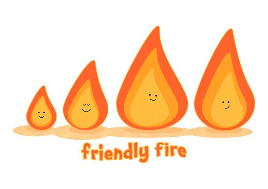 Friendly fire by Emma Harckham