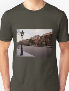 Frozen Canal, Leiden, Holland Unisex T-Shirt