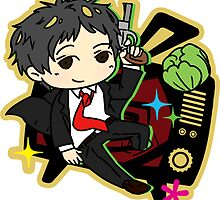[P4] new world fool - adachi by evandrelical
