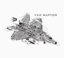 F22 Raptor One Piece - Short Sleeve
