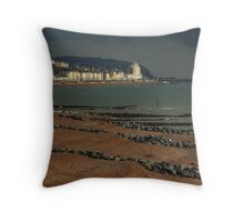 From Town to Town Throw Pillow