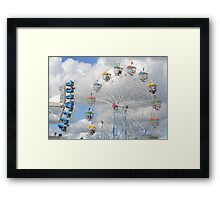 The Show is in Town! Framed Print