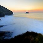 Cornwall: March Sunset at the Strand by Rob Parsons