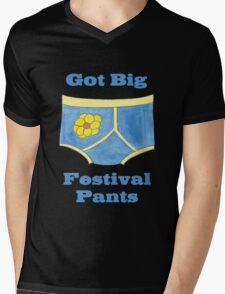 Big Festival Pants Mens V-Neck T-Shirt