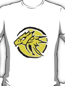 Power Rangers Wild Force Yellow Emblem T-Shirt