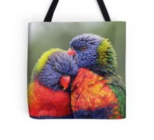Canoodling in the Mist Tote Bag