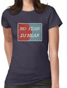 No Fear DJ Nere Womens Fitted T-Shirt