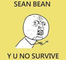 Sean Bean Y U NO Kids Clothes