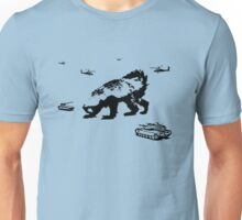 Honey Badger Zilla Unisex T-Shirt