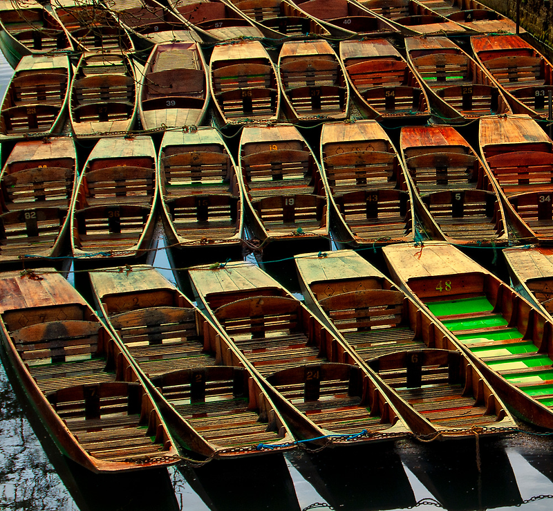 Oxford Boats by ajgosling