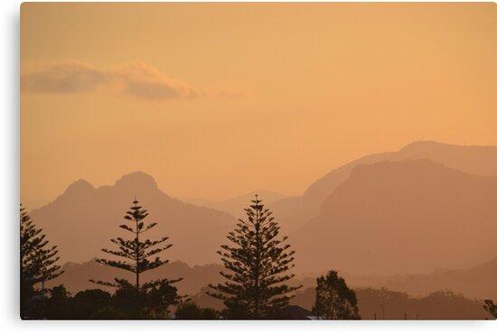 Sun Setting over Coolangatta by TheaShutterbug