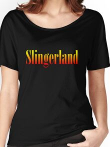 Vintage Slingerland Colorful Women's Relaxed Fit T-Shirt