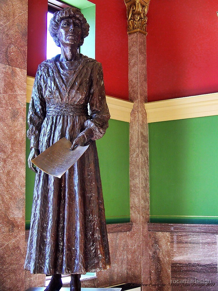 Jeanette Rankin by rocamiadesign
