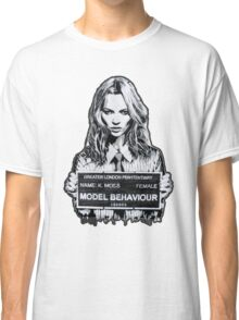 Kate Moss Stencil from London Classic T-Shirt