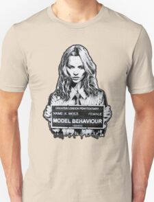 Kate Moss Stencil from London T-Shirt