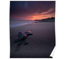 Porthleven Sunset Poster