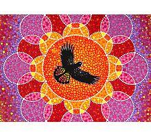 Flight of the Black Cockatoo Photographic Print