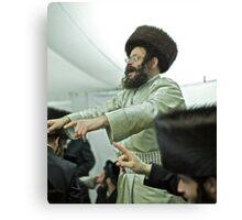 """Harcikn Dank ! A dank ojch zejer!   Shabat Shalom!   jest dniem """"świętego zgromadzenia""""  (III Mojż. 23,3). Canvas Print"""