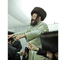 """Harcikn Dank ! A dank ojch zejer!   Shabat Shalom!   jest dniem """"świętego zgromadzenia""""  (III Mojż. 23,3). Photographic Print"""