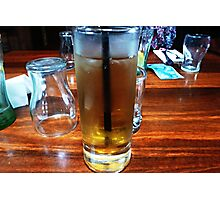 *Brandy & Dry at Luncheon -Victoria Hotel, Woodend*  Photographic Print