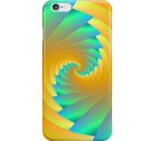 Green and Yellow Twister iPhone Case/Skin