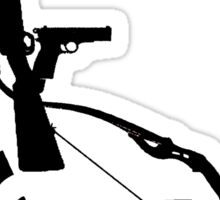 Disabled Shooters - Black Sticker