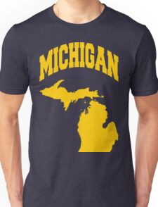 Michigan State College Style Design for Michiganians Unisex T-Shirt
