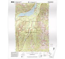 USGS Topo Map Washington State WA Bumping Lake 240269 2000 24000 Poster