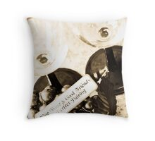 Wine and Friendship Throw Pillow