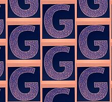 Letters of the alphabet  G by ArtbyInese2015