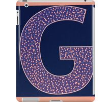 Letters of the alphabet  G iPad Case/Skin