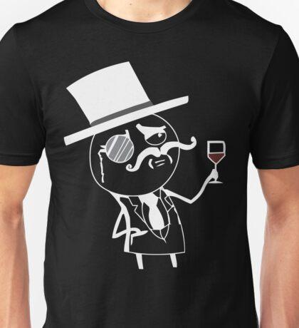Monocle meme for dark shirts Unisex T-Shirt