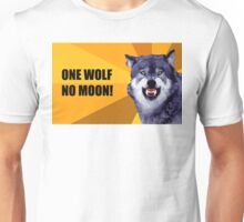 One Wolf No Moon Unisex T-Shirt