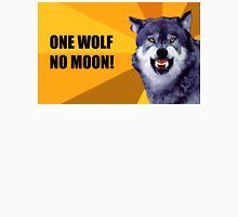 One Wolf No Moon Unisex T-Shirt
