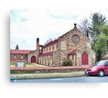 Woodstock Christian Church Canvas Print