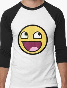 smiley meme Men's Baseball ¾ T-Shirt