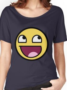 smiley meme Women's Relaxed Fit T-Shirt